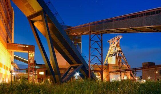 El carbón se extrajo en Zollverein durante 135 años antes de ser desmantelado en 1986.