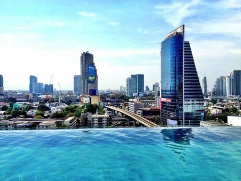 Foto de Eastin Grand Hotel Sathorn, Bangkok: view from pool - Tripadvisor