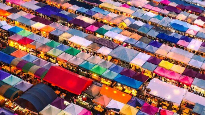 Muchos colores en Tailandia tienen significados específicos
