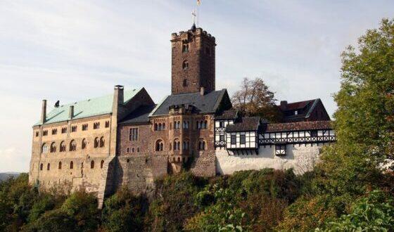 Wartburg, en Eisenach, fue el primer castillo de Alemania en obtener el estatus de Patrimonio Mundial de la UNESCO